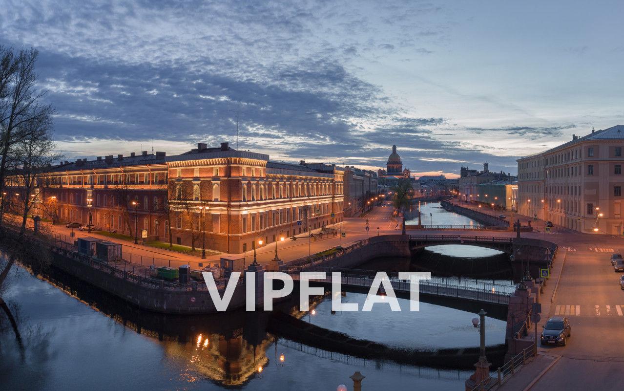 Продажа элитных квартир Санкт-Петербурга. «Art View House», Мойки реки наб., 102 Панорамный вид на весь город