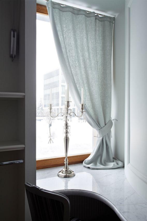 Продажа элитных квартир Санкт-Петербурга.  В спальне