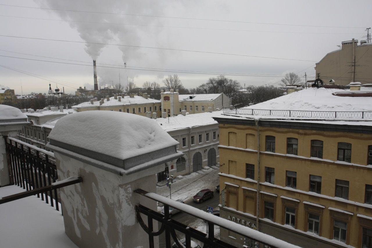 Продажа элитных квартир Санкт-Петербурга.  Вид с террасы