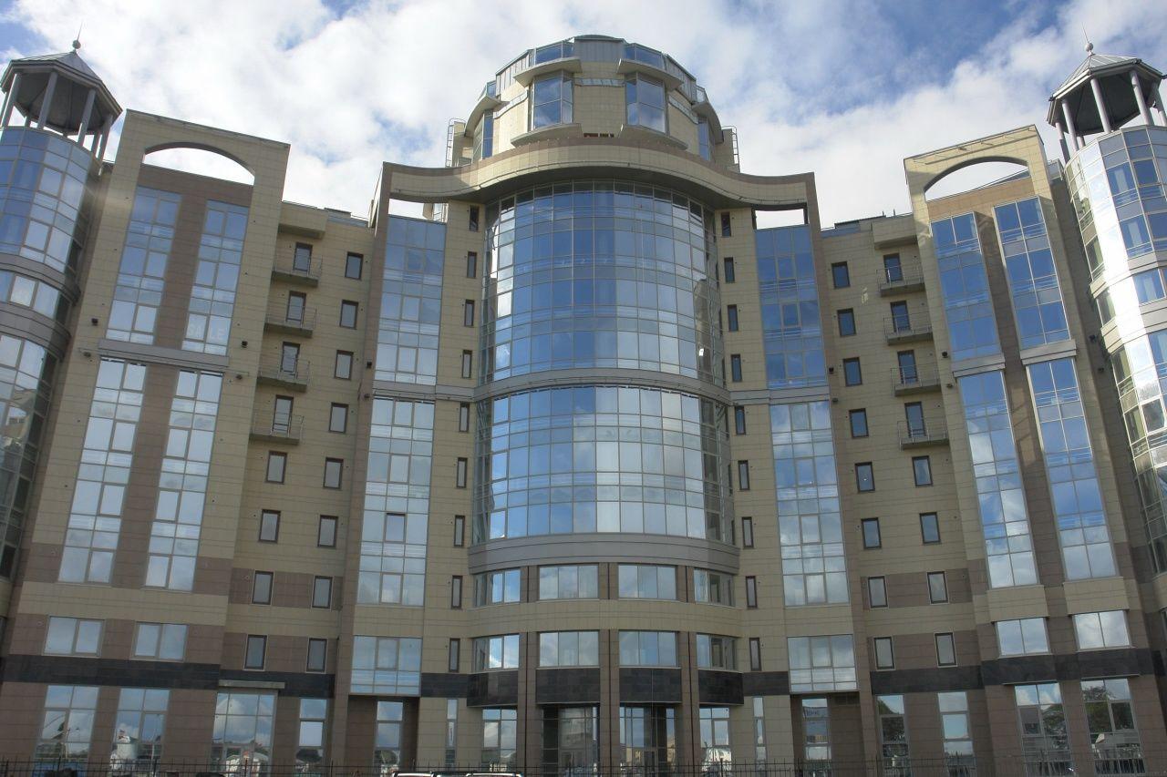 Продажа элитных квартир Санкт-Петербурга.  Вид на комплекс