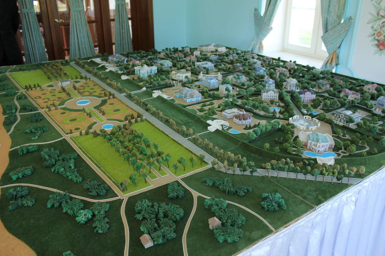 Продажа элитных квартир Санкт-Петербурга.    Макет Северного Версаля