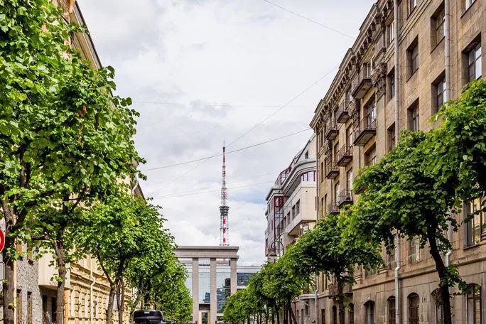 Аллея улицы Графтио