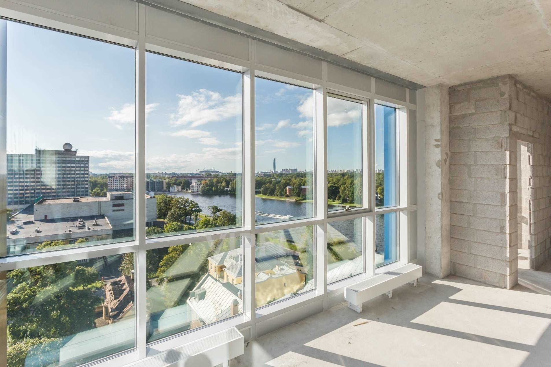 Продажа элитных квартир Санкт-Петербурга. Грота ул., 1-3 Панорамные окна