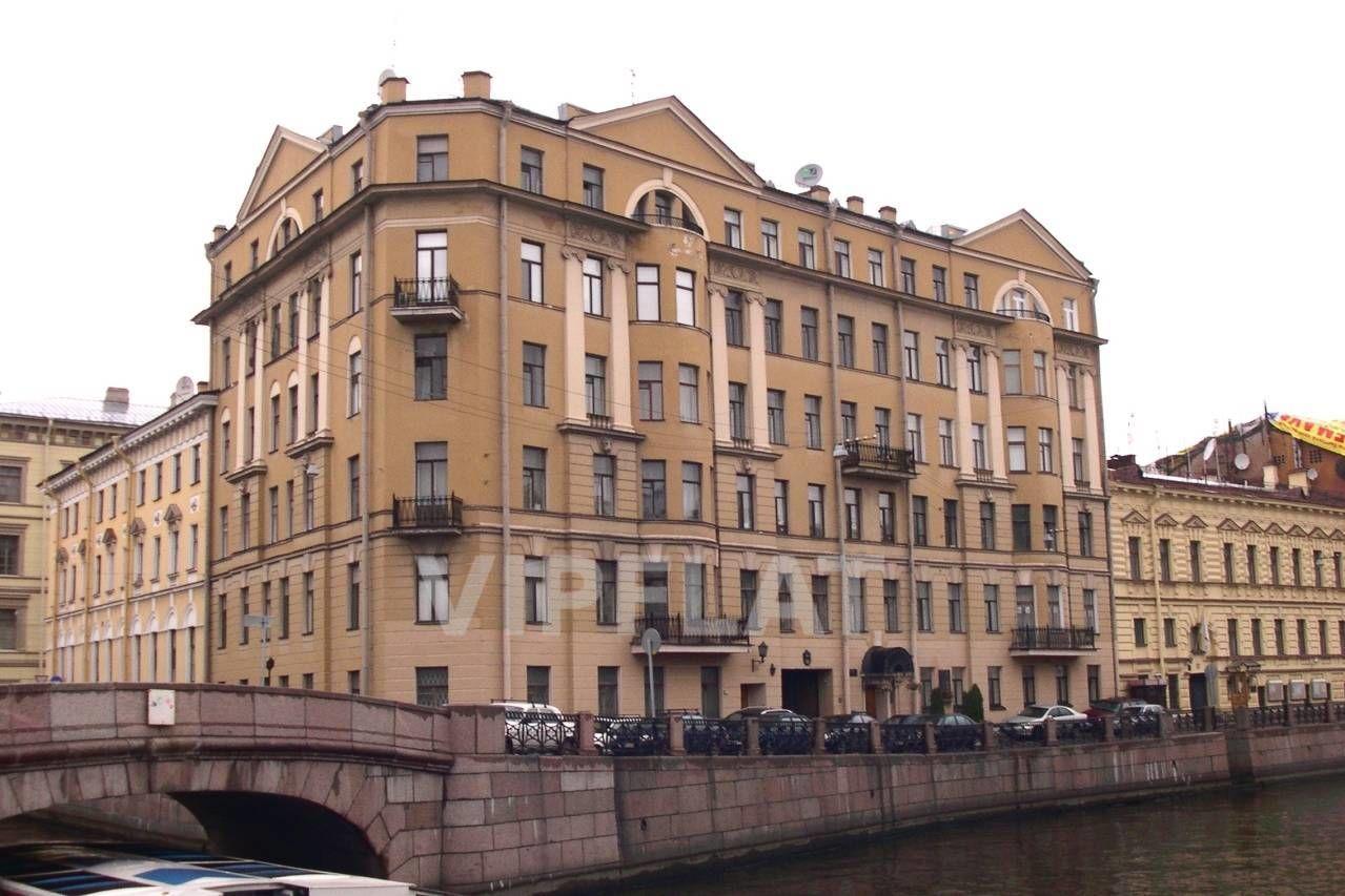 Продажа элитных квартир Санкт-Петербурга. Мойки реки наб., 31 Фасад дома