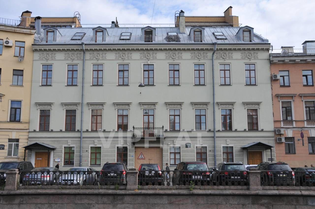 Продажа элитных квартир Санкт-Петербурга. Грибоедова канала наб., 89 Вид на дом