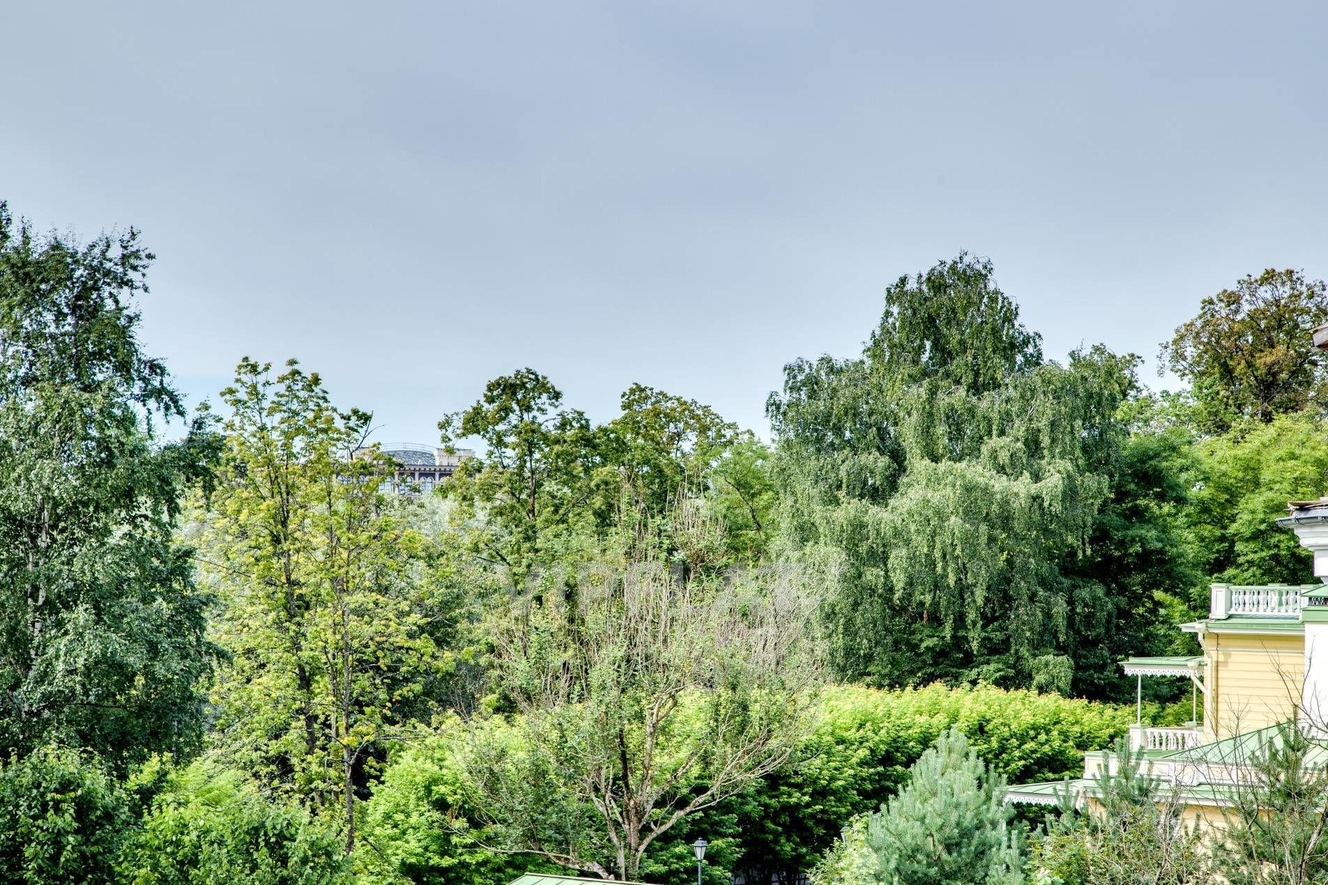 Продажа элитных квартир Санкт-Петербурга. Крестовки реки наб., 3 Вид из окон на парк