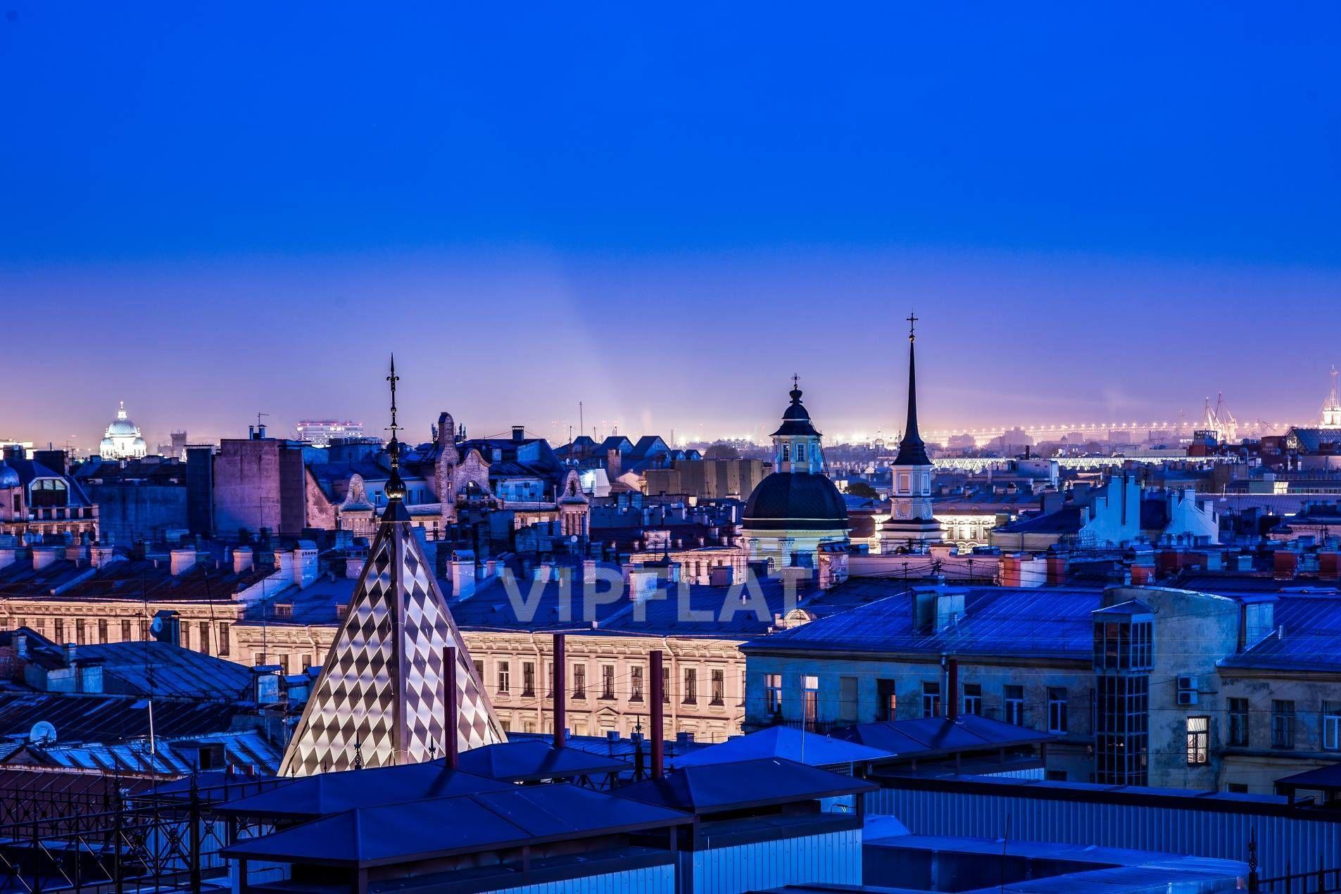 Продажа элитных квартир Санкт-Петербурга. Басков пер., 2 Сказочный вид с верхних этажей