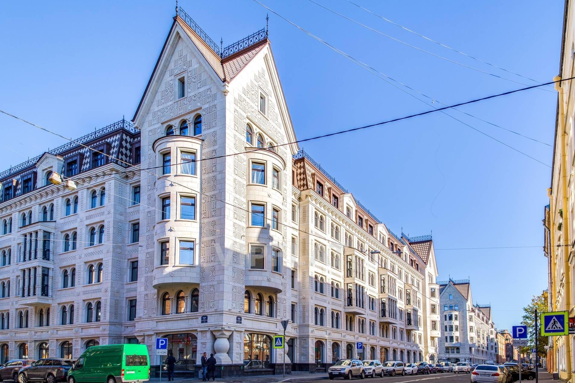 Продажа элитных квартир Санкт-Петербурга. Басков пер., 2 Вид на дом