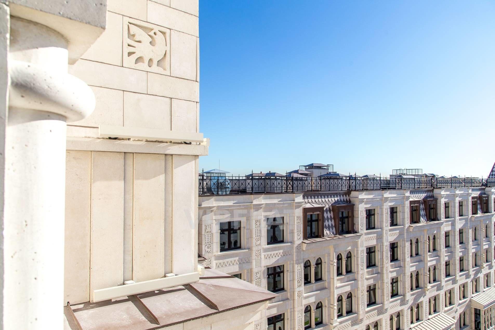 Продажа элитных квартир Санкт-Петербурга. Басков пер., 2 Живописный вид на крыши города