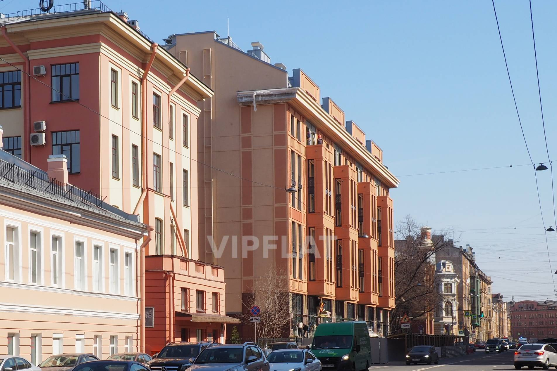 Продажа элитных квартир Санкт-Петербурга. 2-я Советская ул., 4 Новый дом с самом центре города