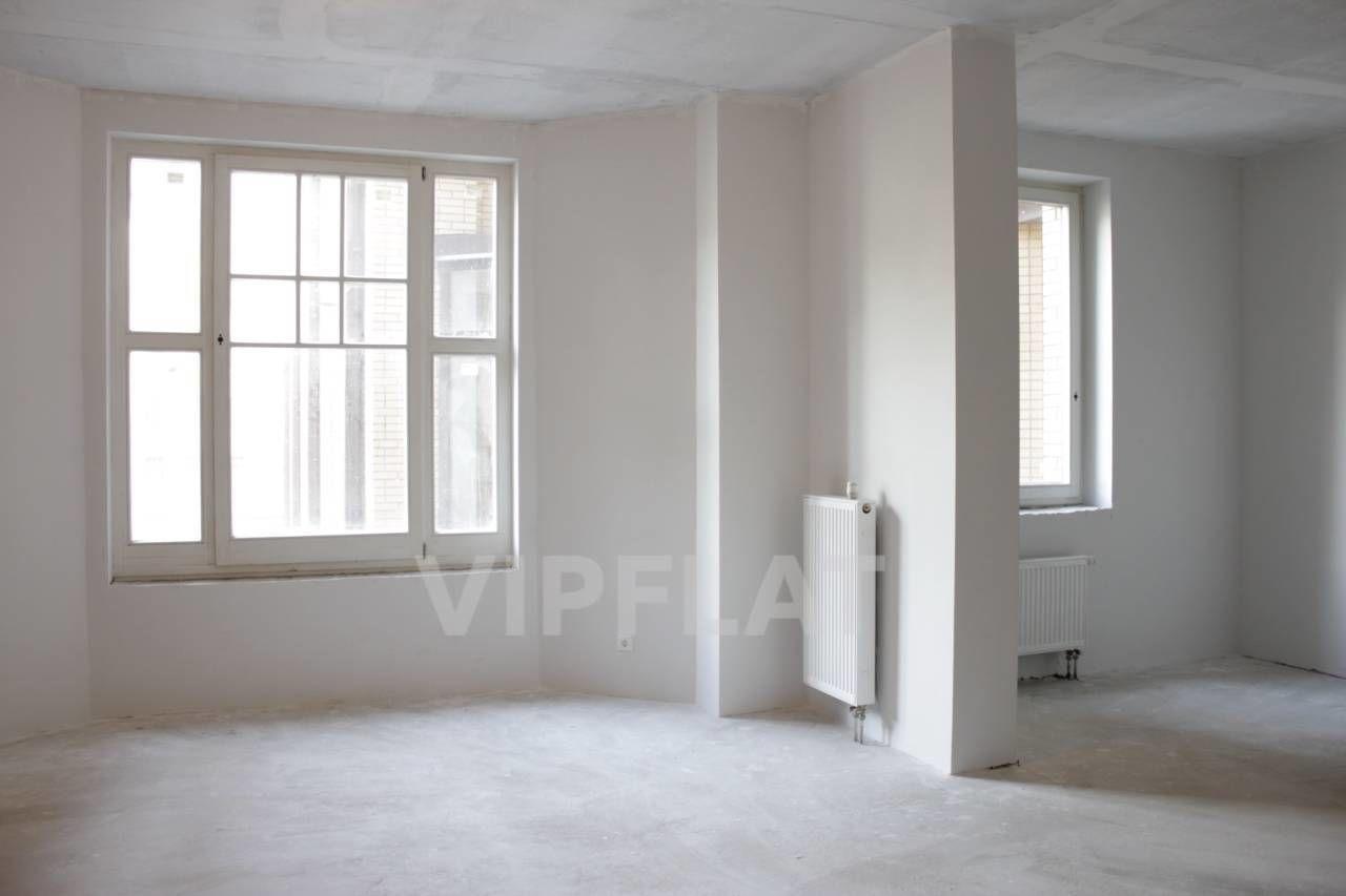 Продажа элитных квартир Санкт-Петербурга.  4-я линия В.О., 41  Кухня-гостиная с эркером