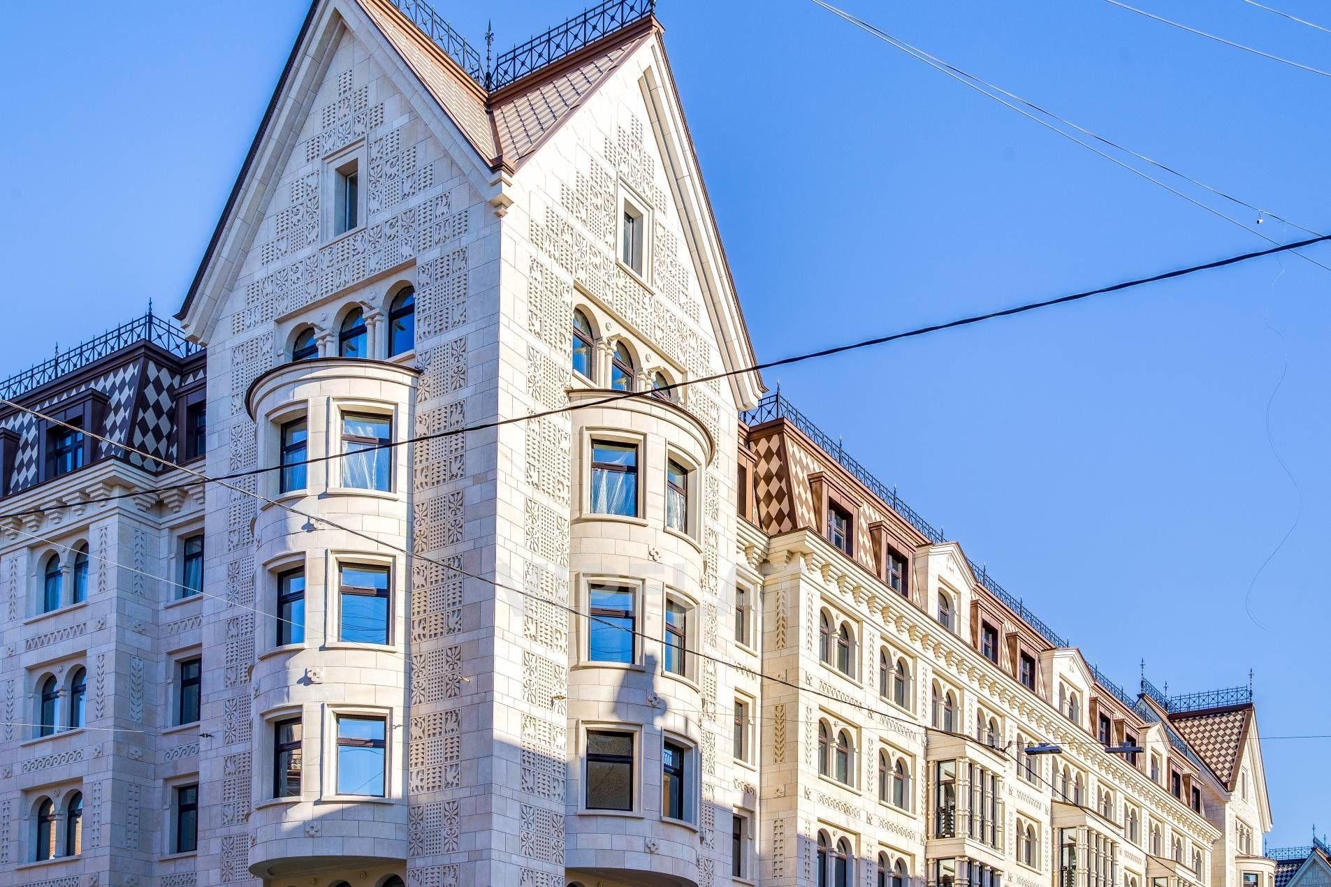 Продажа элитных квартир Санкт-Петербурга. Басков пер., 2 Квартира расположена в башне