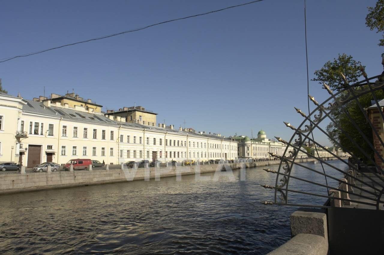 Продажа элитных квартир Санкт-Петербурга. наб. Фонтанки  2 Вид на дом