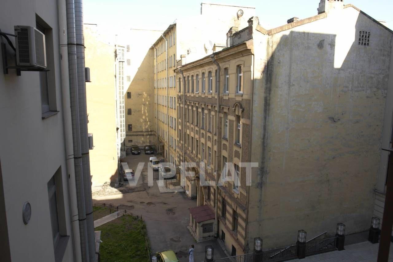 Продажа элитных квартир Санкт-Петербурга. Конная ул. 14 Вид из окон