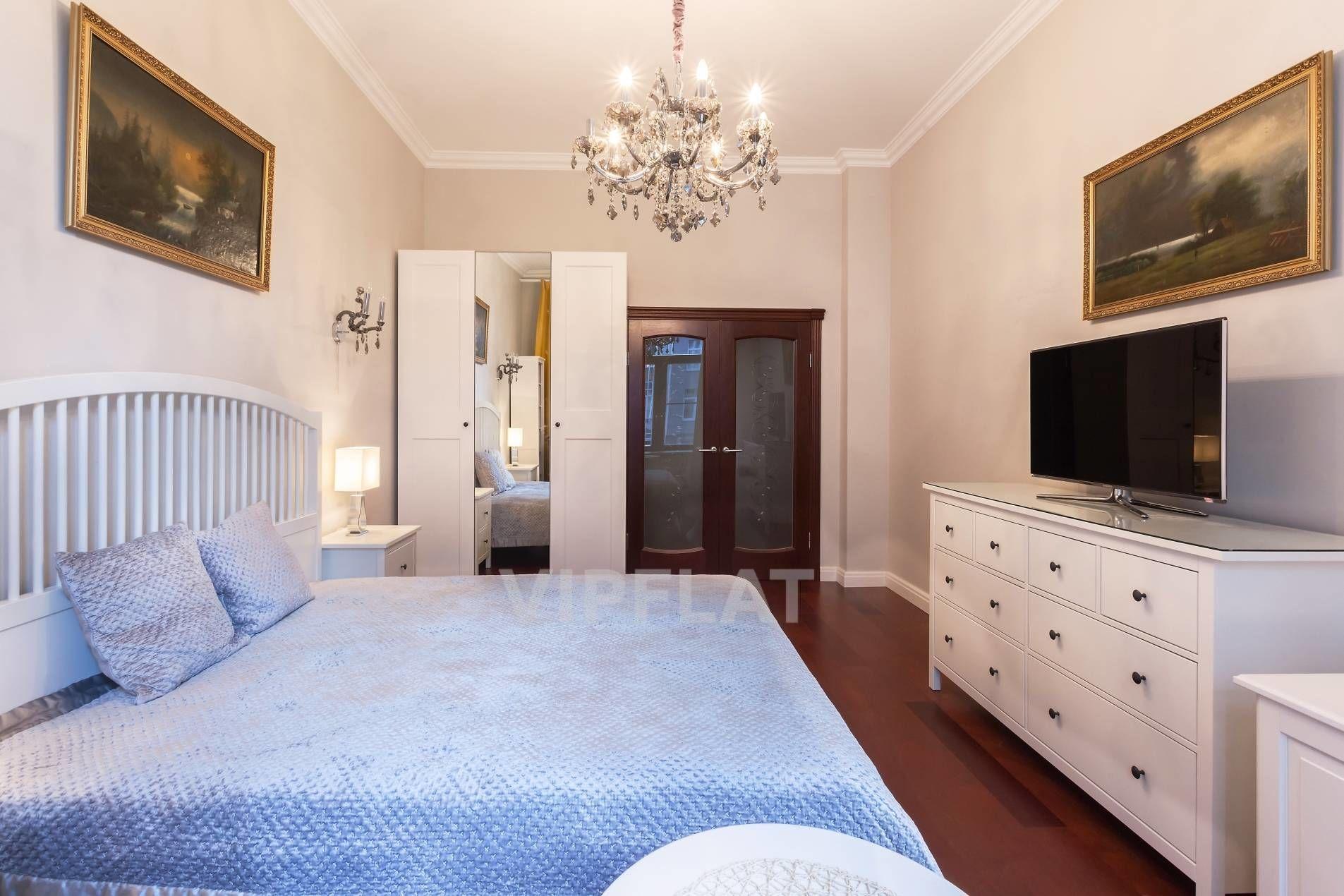 Продажа элитных квартир Санкт-Петербурга. Вязовая ул., 10 Ремонт выполнен в классическом стиле