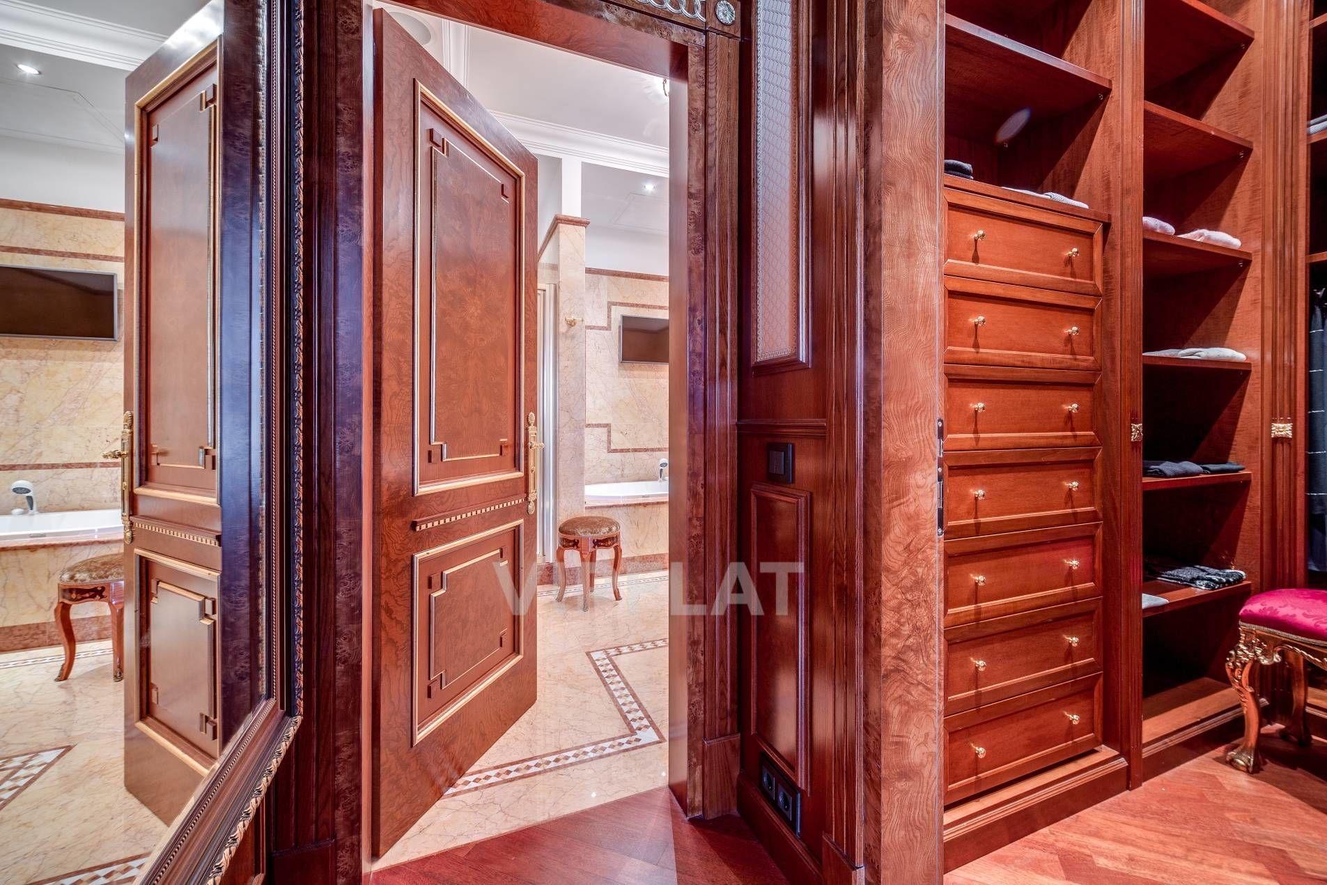 Продажа элитных квартир Санкт-Петербурга. Песочная наб., 12 Гардеробная и ванная комната