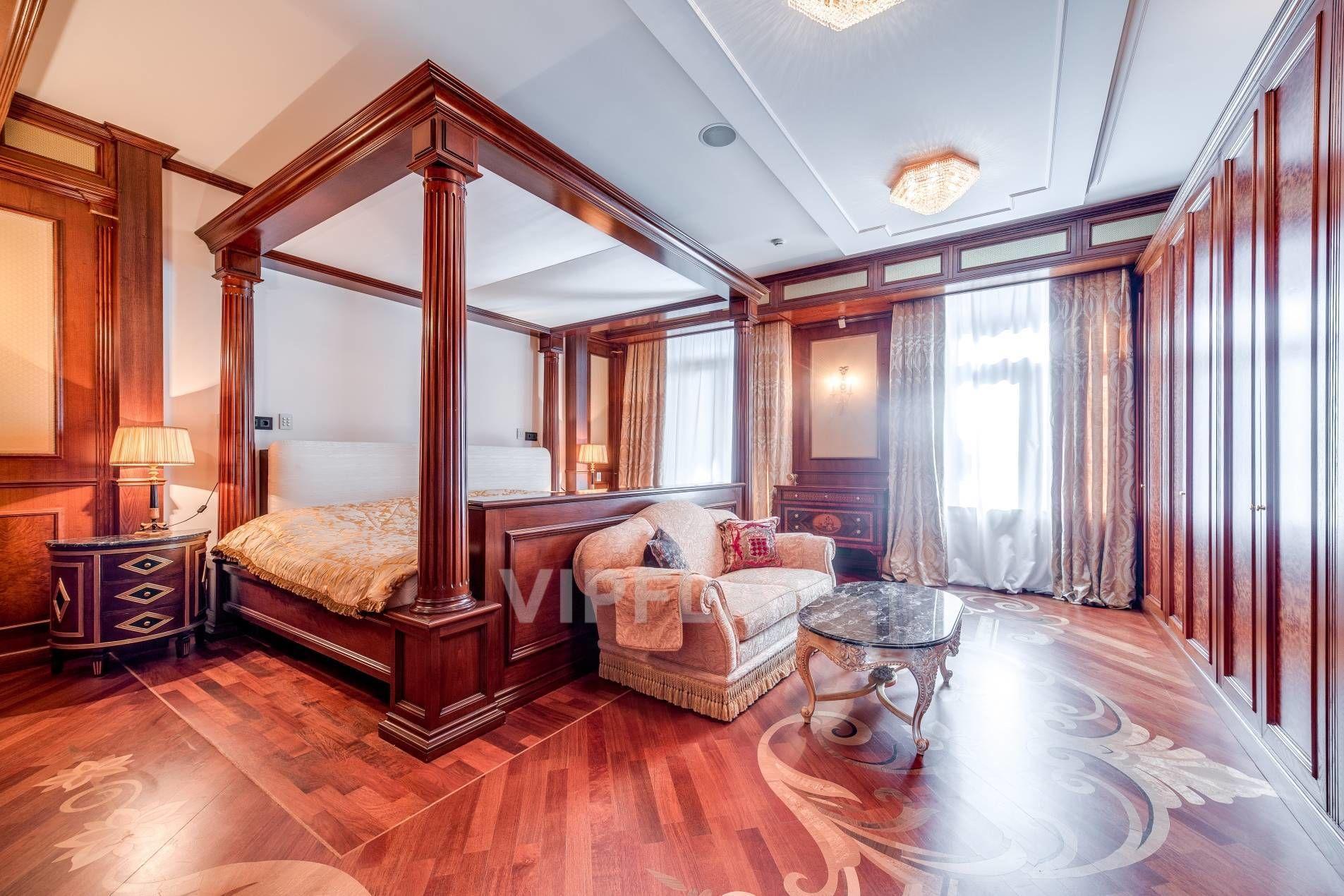 Продажа элитных квартир Санкт-Петербурга. Песочная наб., 12 Спальня для королевских особ