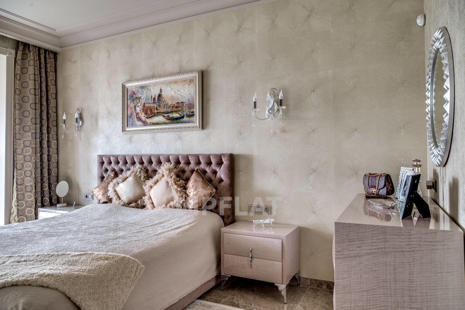 Продажа элитных квартир Санкт-Петербурга. Космонавтов пр., 63 к. 1 Интерьер спальни