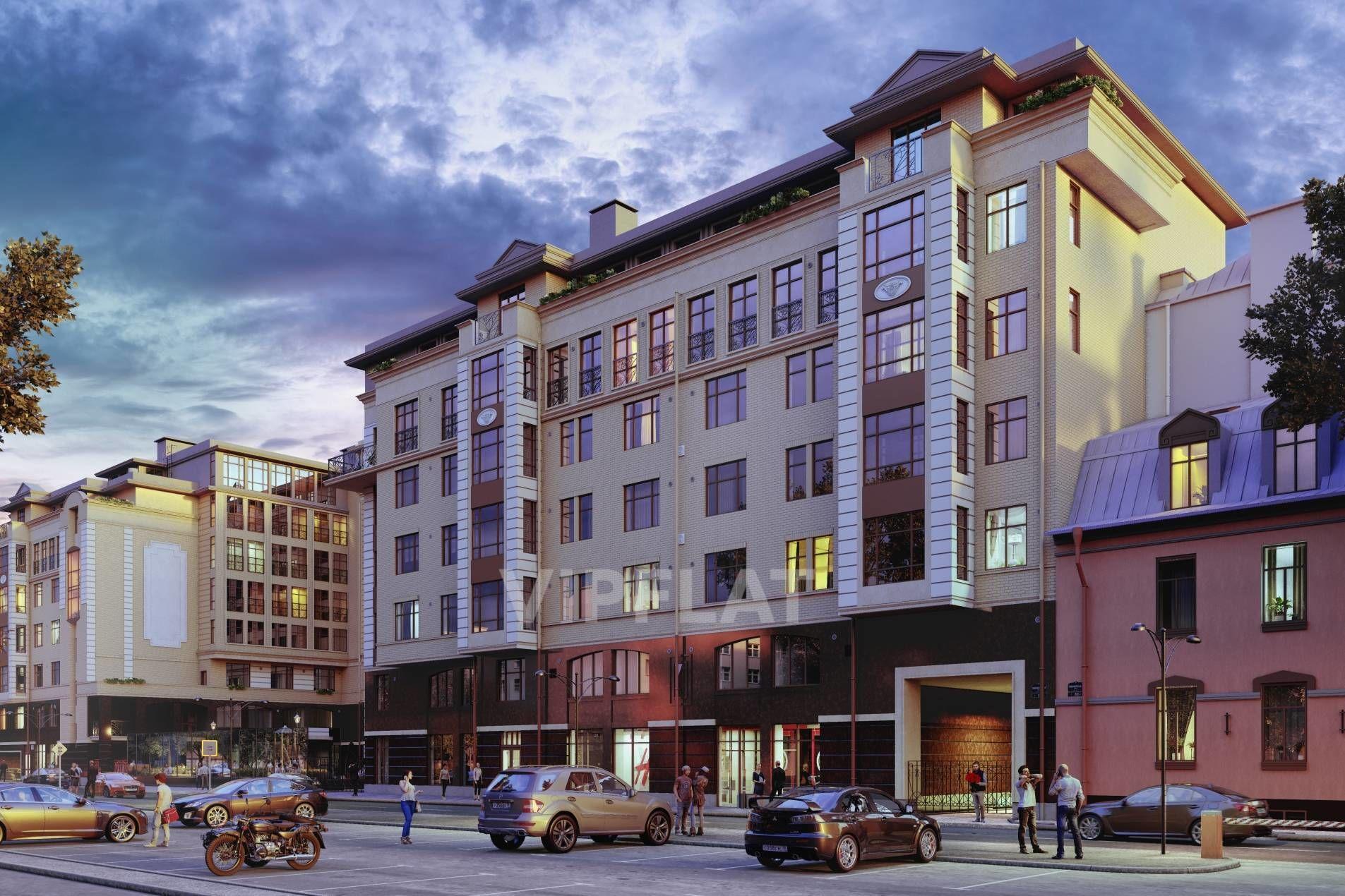 Продажа элитных квартир Санкт-Петербурга. Пионерская ул., 33 Эркеры и французские балконы украшают фасад
