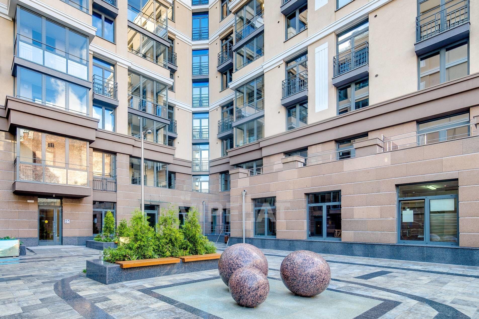 Продажа элитных квартир Санкт-Петербурга. Полтавская ул., 7 Благоустроенная территория