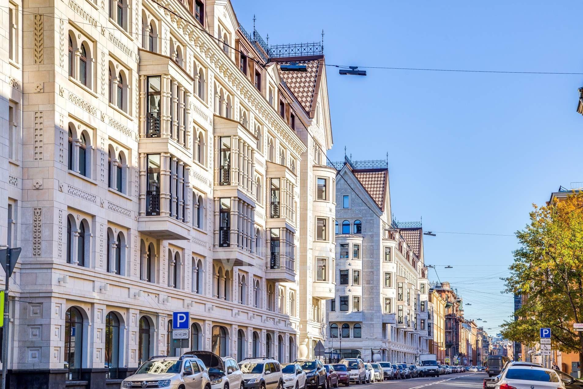Продажа элитных квартир Санкт-Петербурга. Басков пер., 2 Фасад дома