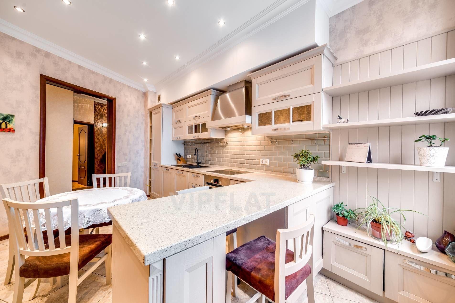 Продажа элитных квартир Санкт-Петербурга. Парадная, 3 к. 2 Уютная кухня