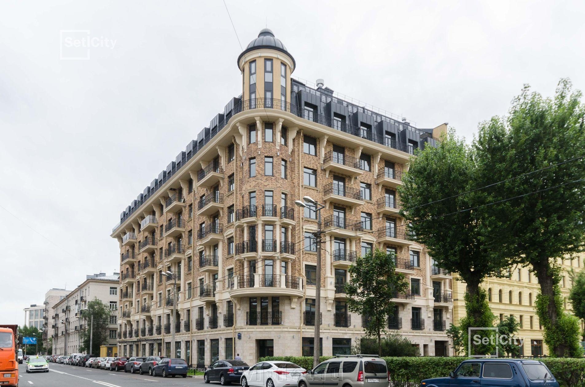 Продажа элитных квартир Санкт-Петербурга. Кирочная улица, 57 Нарядный фасад дома