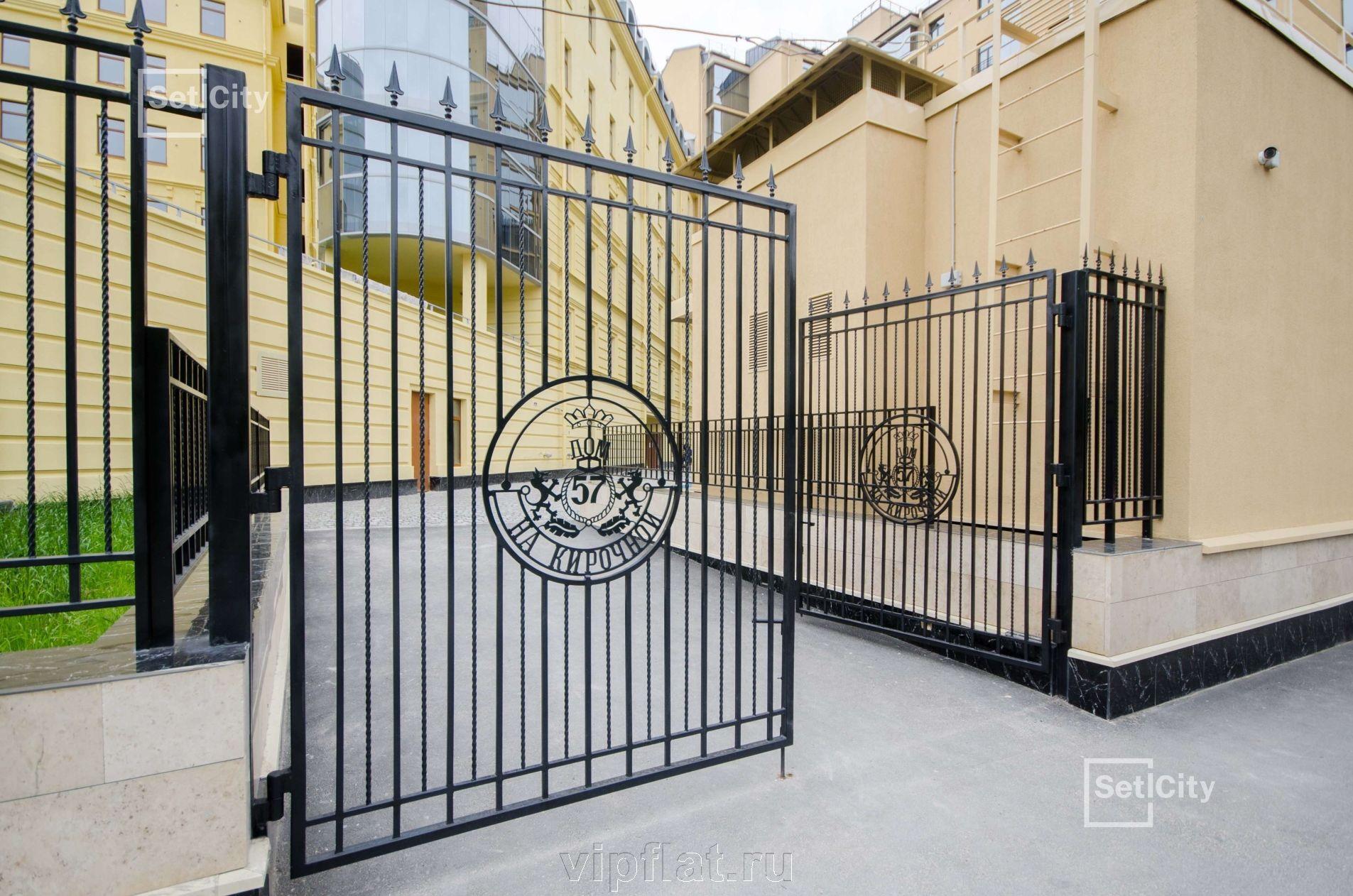 Продажа элитных квартир Санкт-Петербурга. Кирочная улица, 57 Закрытая территория