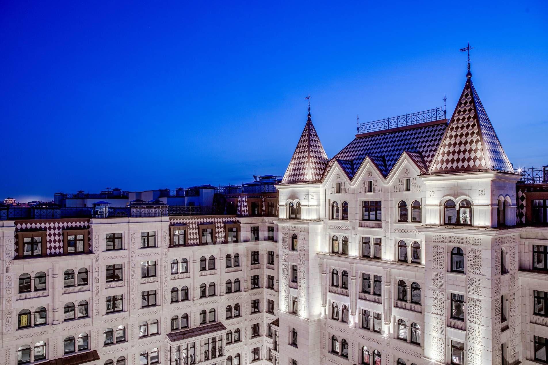 Продажа элитных квартир Санкт-Петербурга. Басков пер., 2 Эффектная ночная подсветка