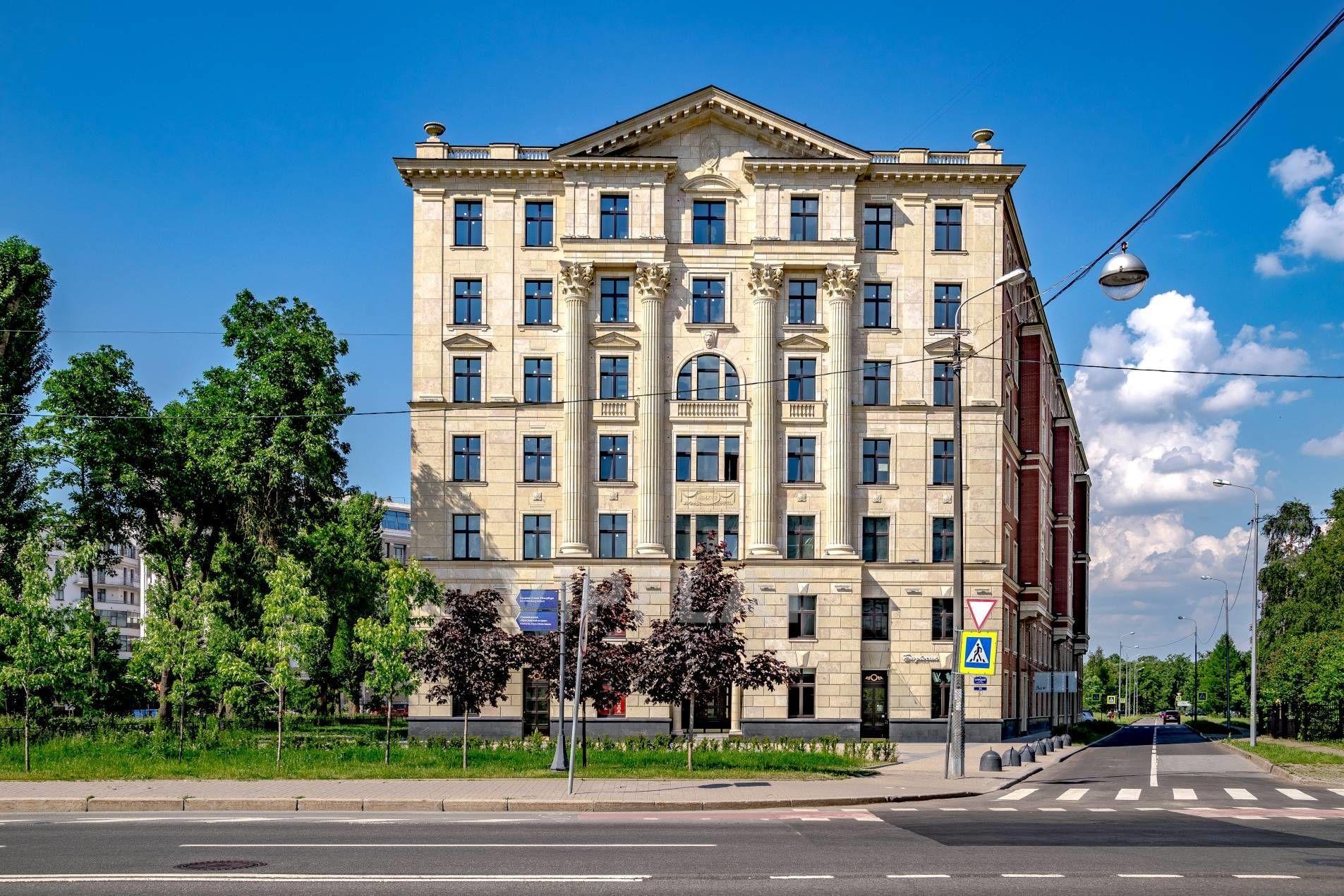 Продажа элитных квартир Санкт-Петербурга. Морской пр., 29 Торжественный фасад
