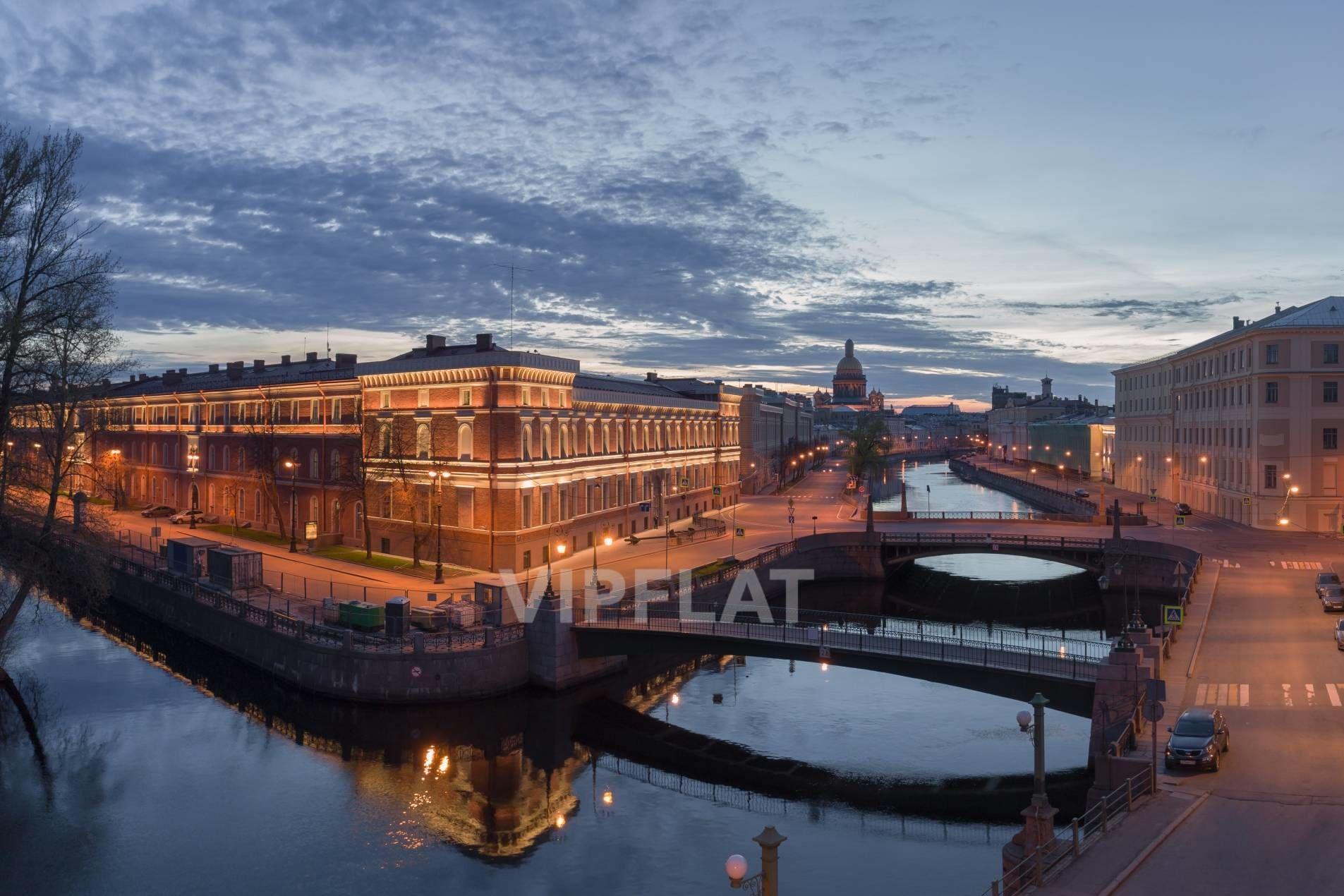 Продажа элитных квартир Санкт-Петербурга. «Art View House» Мойки реки наб., 102  Панорамный вид на весь город