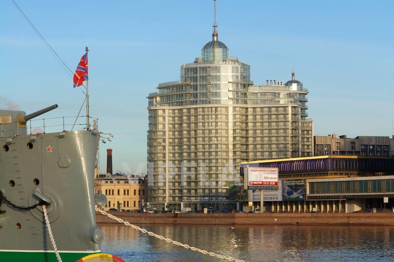 Продажа элитных квартир Санкт-Петербурга. Оренбургская ул., 2 Вид на дом