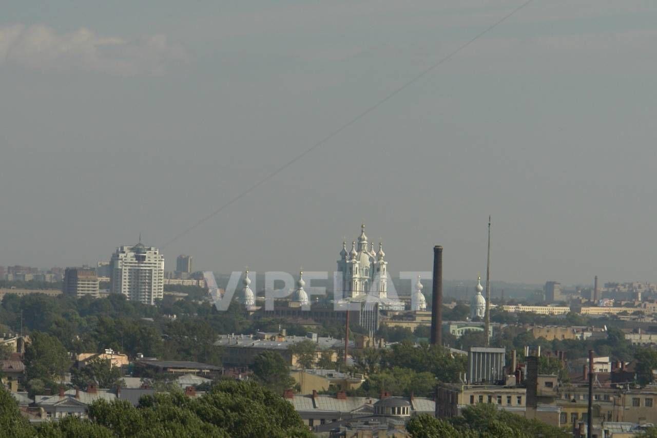 Продажа элитных квартир Санкт-Петербурга. Оренбургская ул., 2 Вид в сторону Смольного