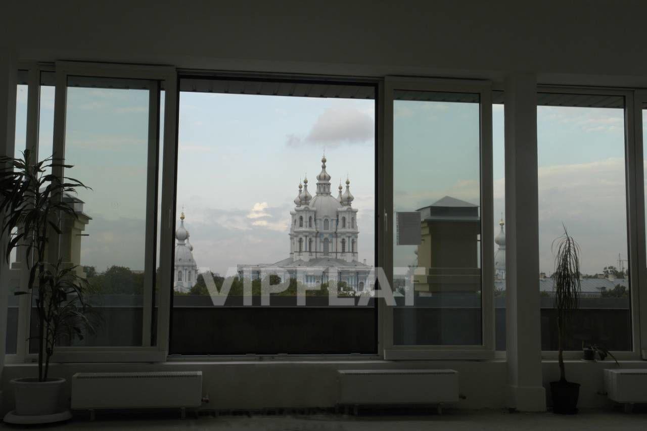 Продажа элитных квартир Санкт-Петербурга. Смольный пр., 6 Вид из квартиры