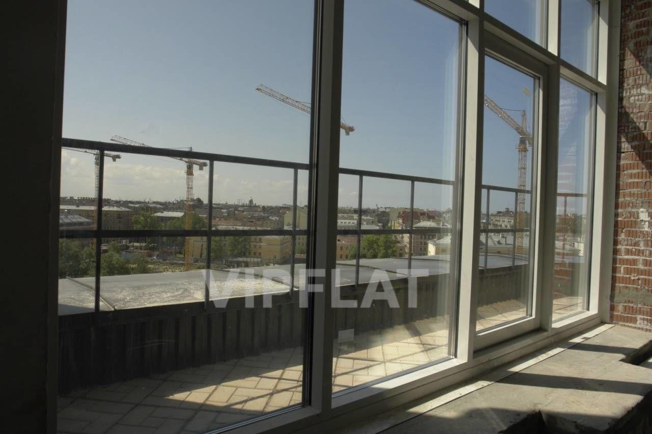 Продажа элитных квартир Санкт-Петербурга. Парадная ул., 3, корпус 2 Панорамные окна с террасой