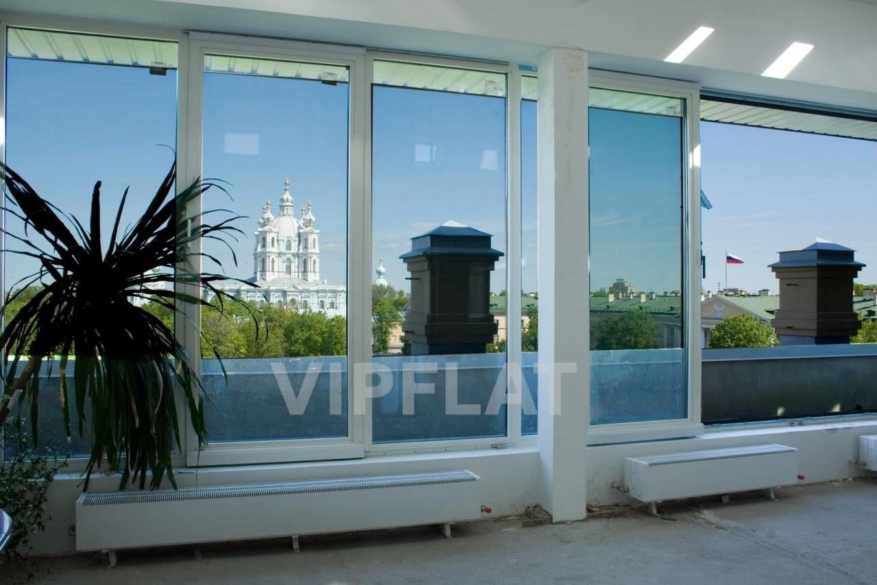 Продажа элитных квартир Санкт-Петербурга. Смольный пр., 6 Панорамный вид из окон