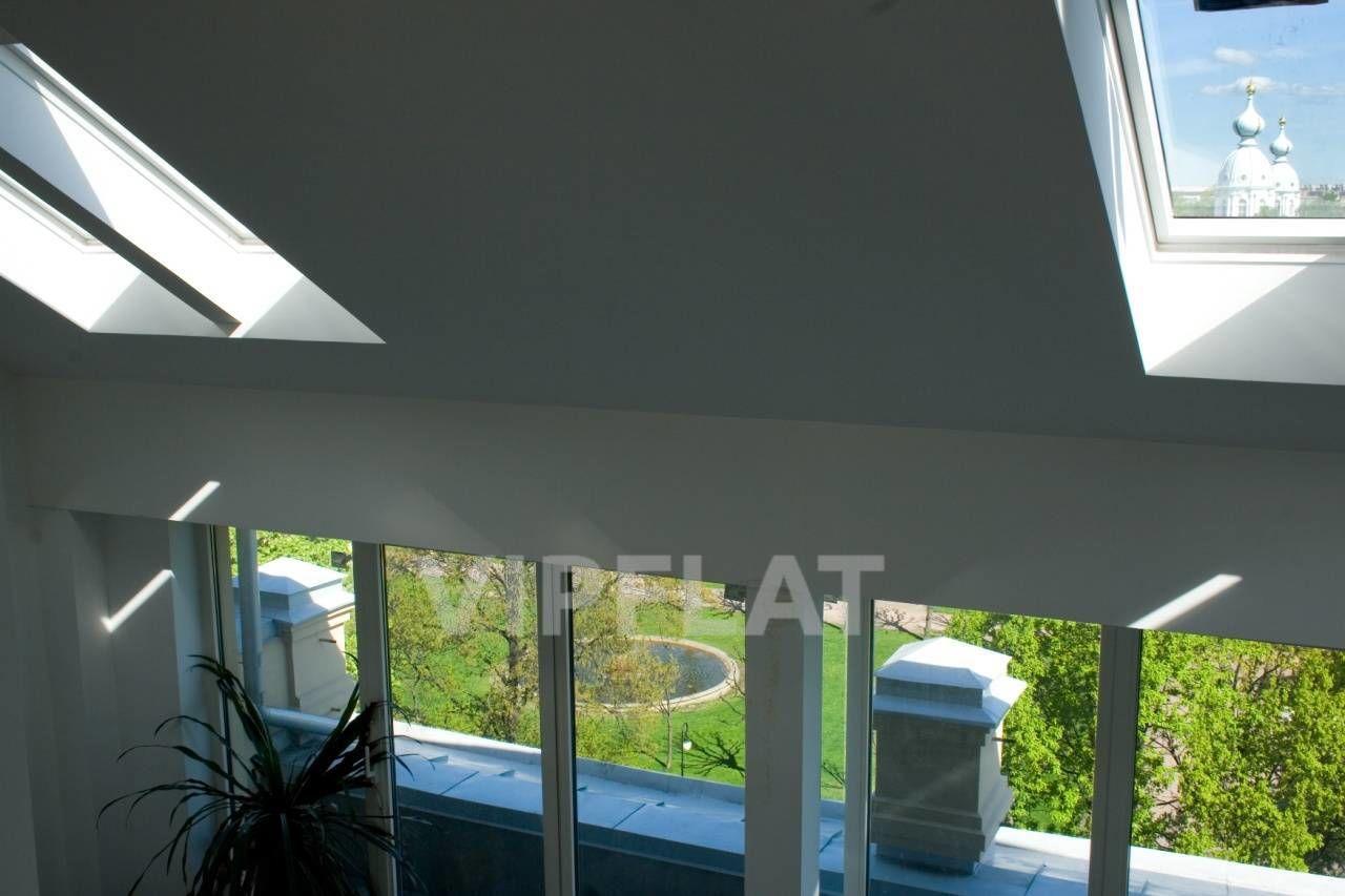 Продажа элитных квартир Санкт-Петербурга. Смольный пр., 6 Вид с антесольного этажа