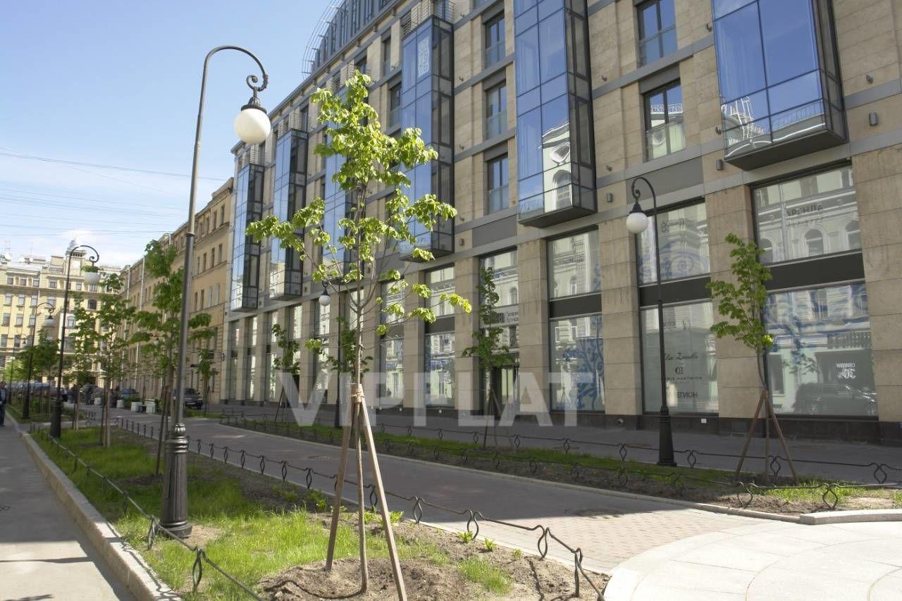 Продажа элитных квартир Санкт-Петербурга. Невский проспект, 152 На первом этаже Галерея бутиков