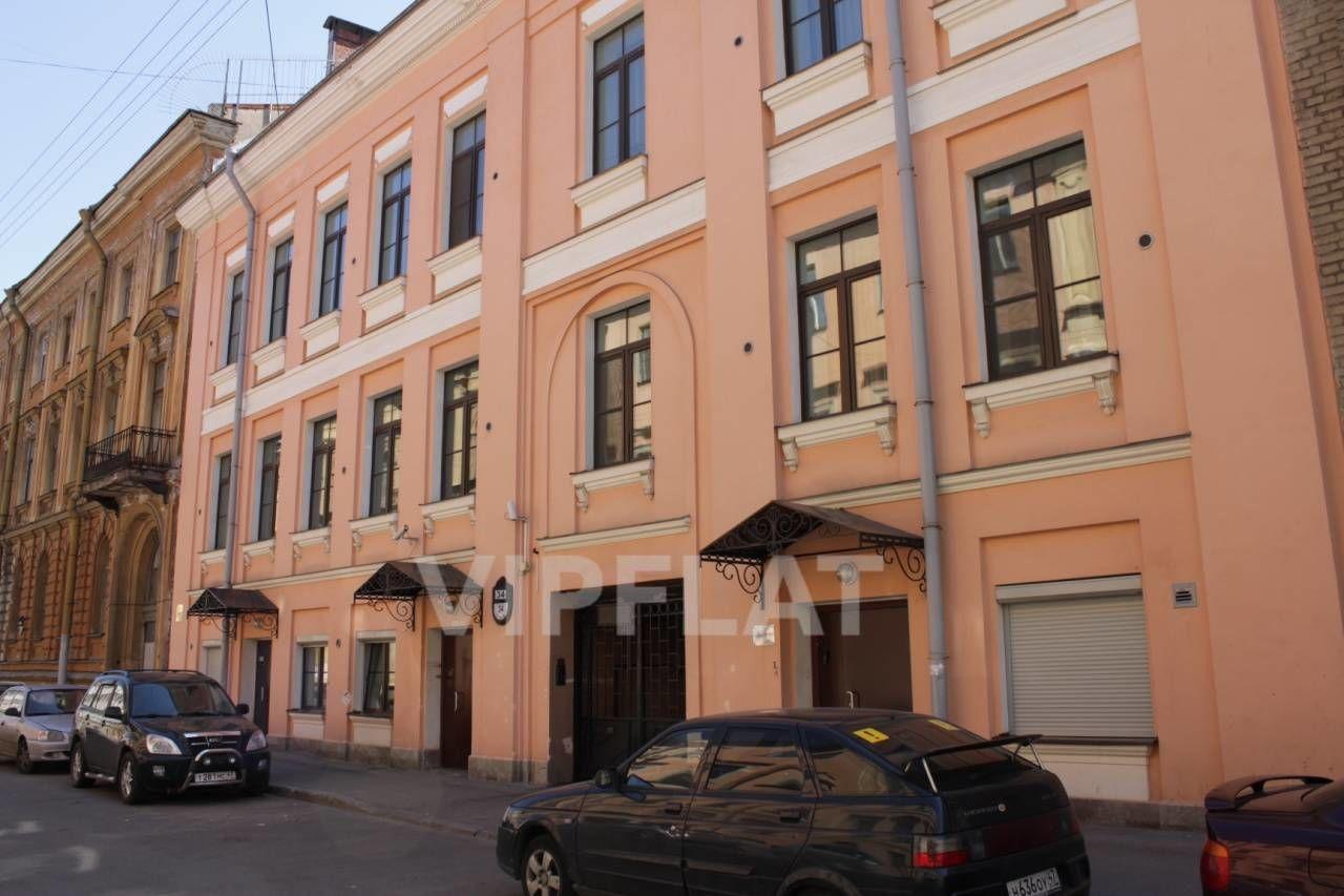 Продажа элитных квартир Санкт-Петербурга. Галерная ул., 34 Фасад по Галерной улице