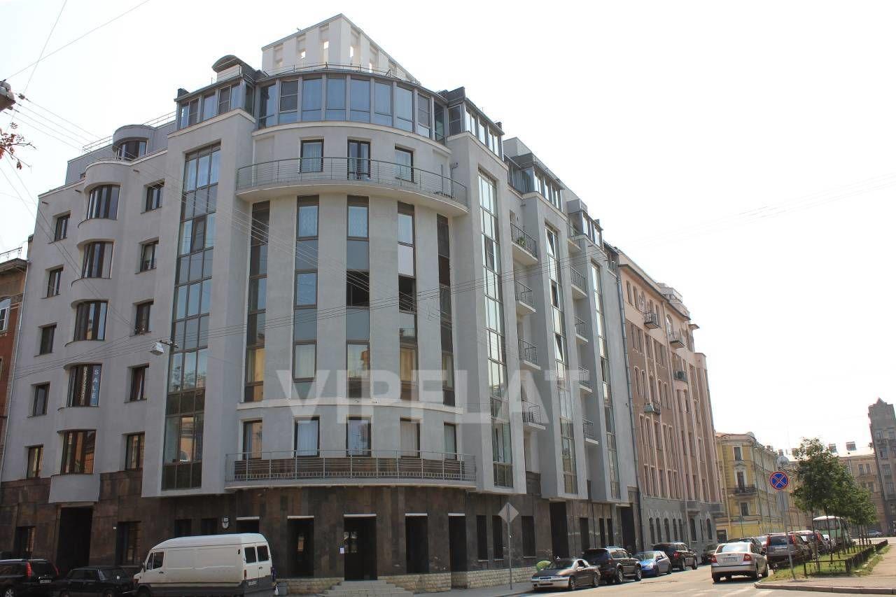 Продажа элитных квартир Санкт-Петербурга. 5-я Красноармейская ул., 32 Фасад дома