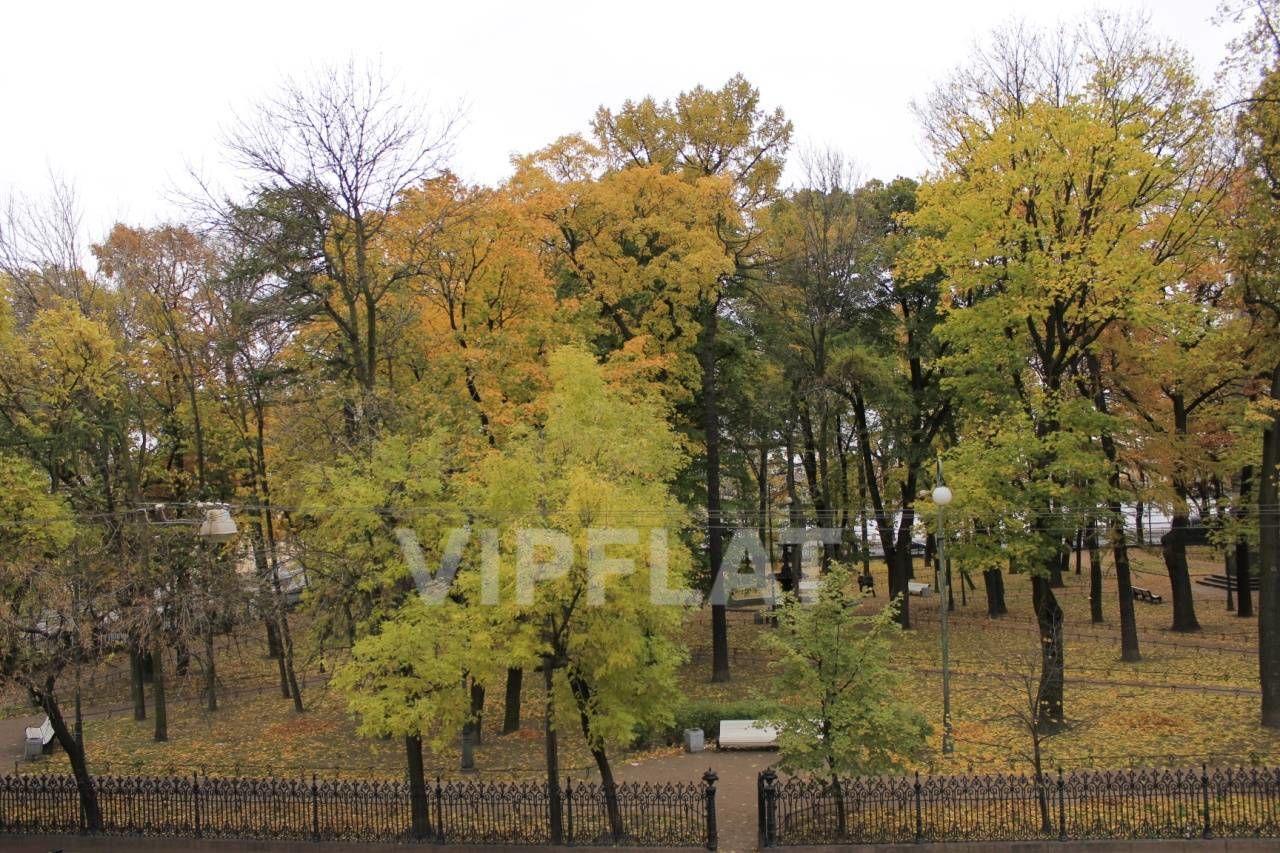 Продажа элитных квартир Санкт-Петербурга. Румянцевская площадь, 2 Окна в Румянцевский сад