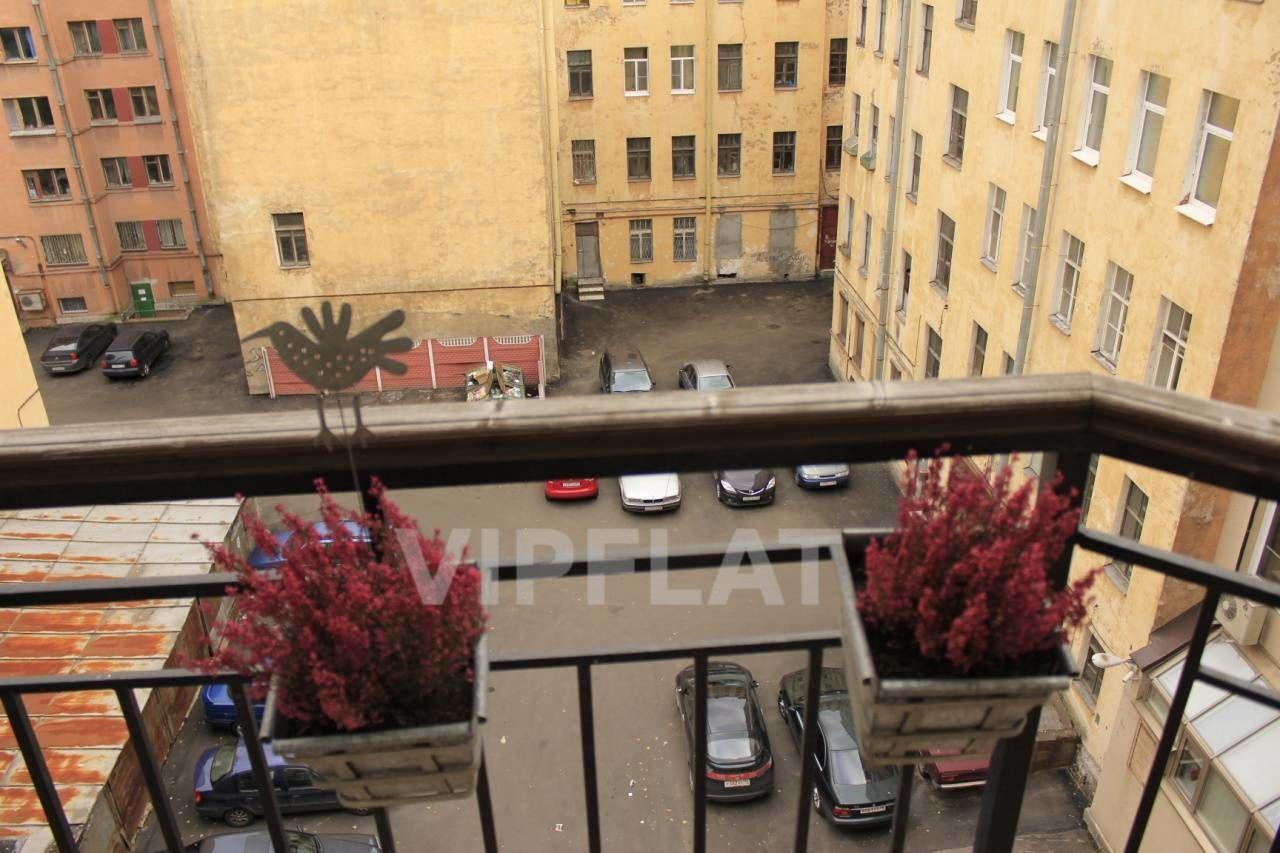 Продажа элитных квартир Санкт-Петербурга. Конная ул., 14 Вид с балкона