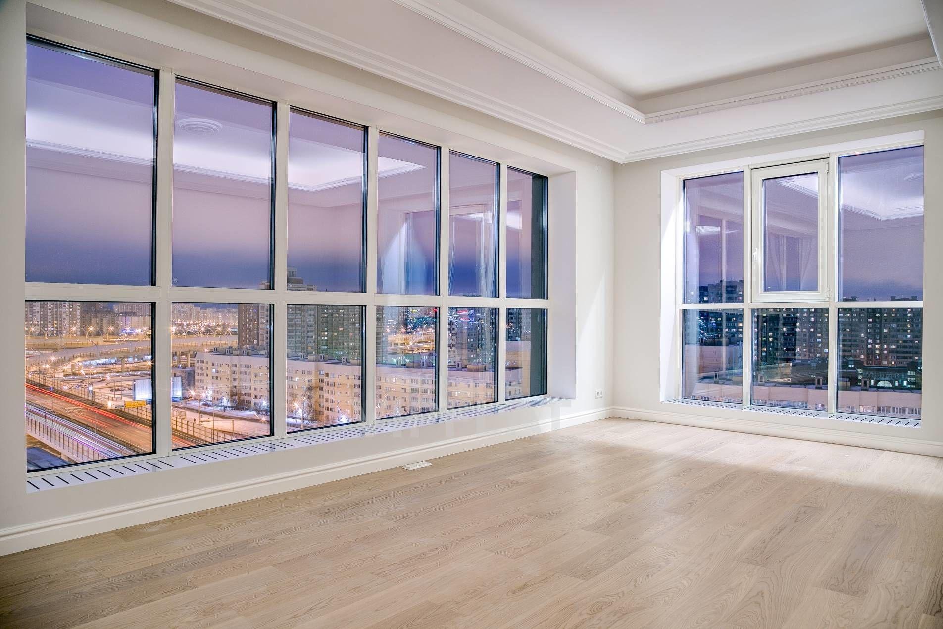 Продажа элитных квартир Санкт-Петербурга. Приморский пр., 52 к.1 Огромные окна во всю стену