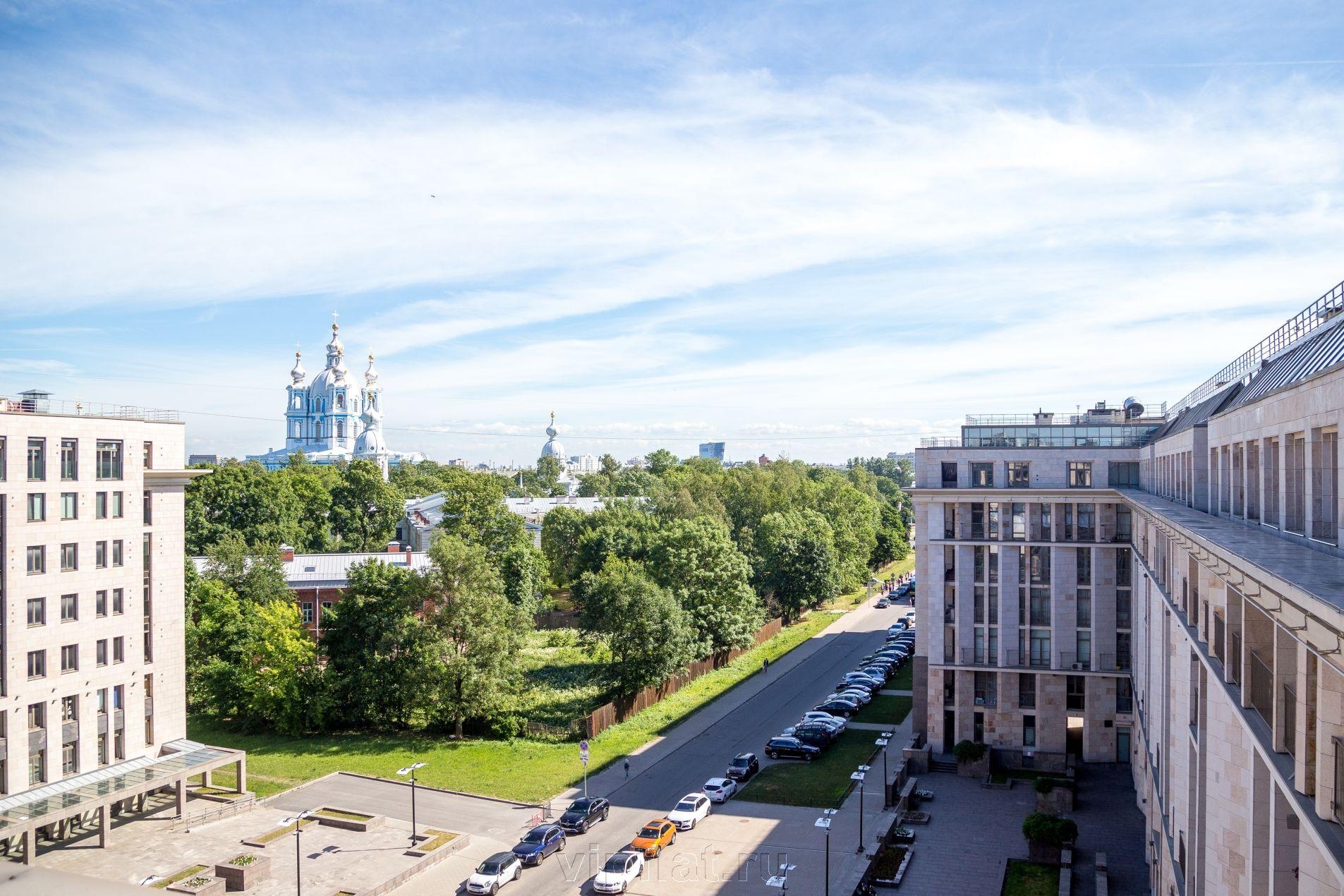Продажа элитных квартир Санкт-Петербурга. Орловская ул, 1 Вид из окон