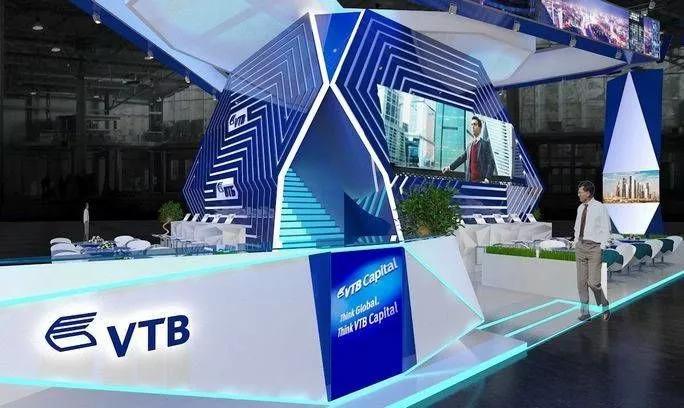 выставочный стенд банка ВТБ